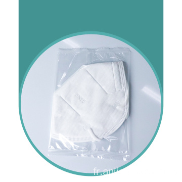 Masque facial de protection jetable anti-poussière adulte à 5 couches